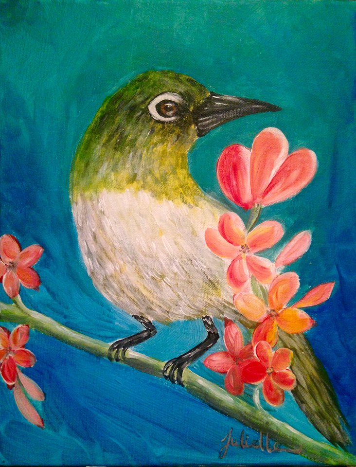 Hawiian Bird Painting