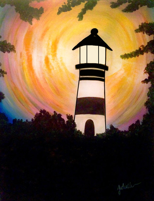 lighthouse painting party