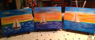 Sailboat Painting Parties