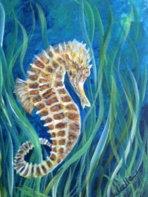 Seahorse Painting Party