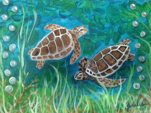 Seaturtle Painting